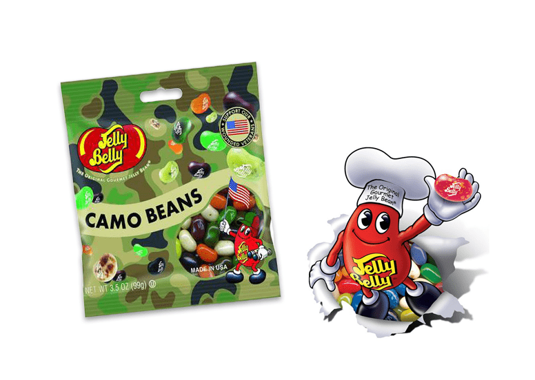 Jelly Belly Camo Beans или Джелли Белли Бобы Камо
