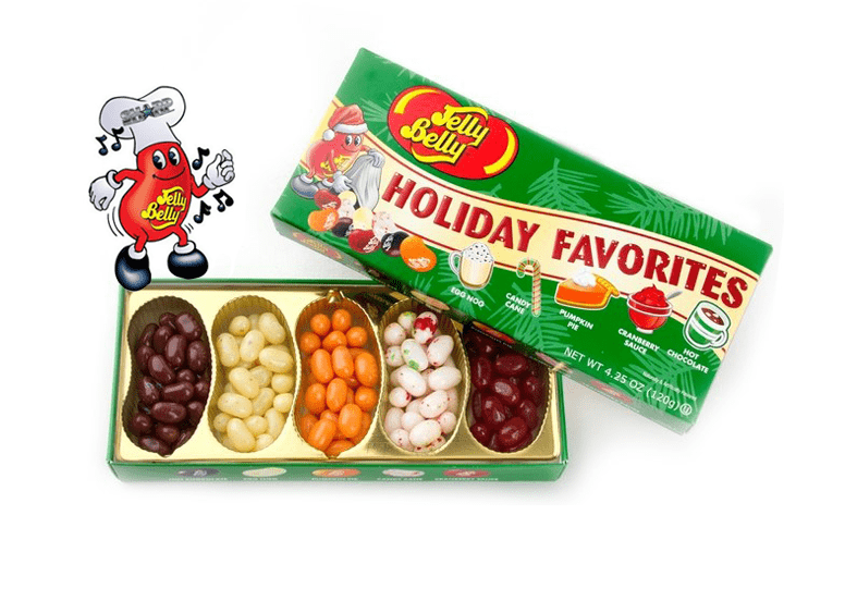 Jelly Belly Holiday Favorites Gift Box или Джелли Белли Праздничные