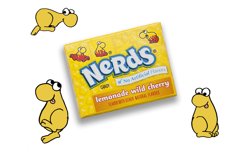 Wonka mini Nerds lemonade wild cherry или Вонка мини нердс вишневый лимонад
