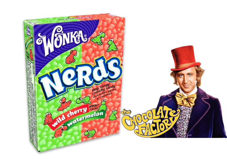 Wonka Nerds Wild Cherry Watermelon или Вонка Дикая вишня и арбуз
