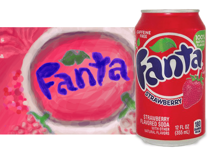 Fanta Strawberry или Фанта Клубника