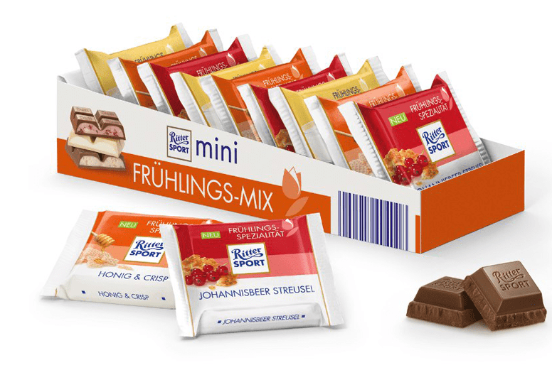 Ritter Sport mini Fruhlings Mix или Риттер Спорт Весенний Микс
