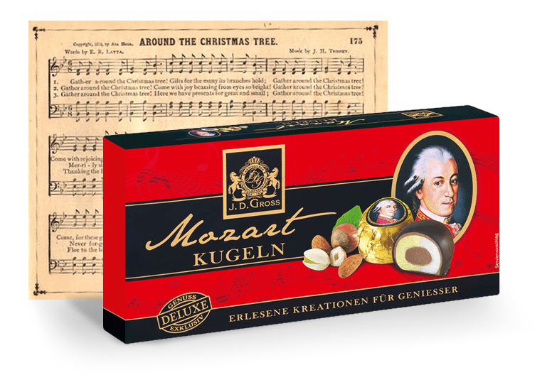 J. D. Gross Mozart Kugeln black или Гросс Моцарт Кюгельн черные