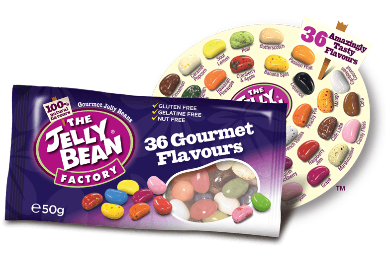 The Jelly Bean Factory 36 Gourmet Flavours или Джелли Бинс 36 вкусов