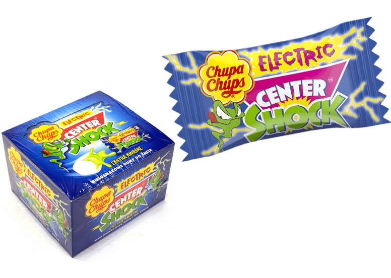 Chupa Chups Center Shock Electric 4g или Чупа Чупс Центр Шок Электрик 4г